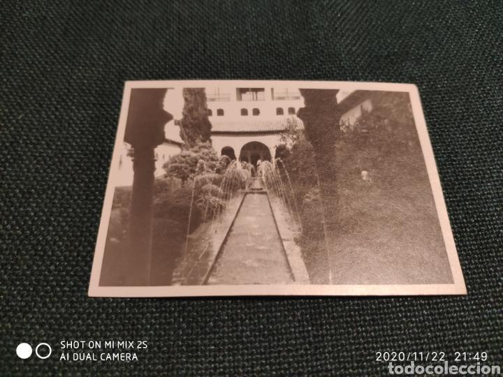 FOTO ALHAMBRA DE GRANADA (ANTIGUA) (Fotografía Antigua - Albúmina)