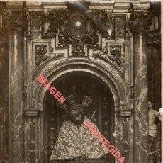 Fotografía antigua: SEVILLA, AÑOS 20, ESPECTACULAR FOTOGRAFIA CRISTO DEL PERDON, SACRAMENTAL DEL SAGRARIO,14X21 CMS. Lote 226348315
