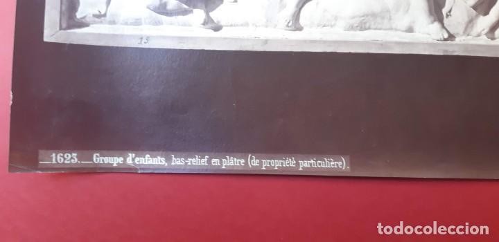 Fotografía antigua: 1872-75ca. Fotografía oroginal albumina J. Laurent y Cia. 33x 24cm. Bajo relieve. Luz artificial - Foto 6 - 226497385