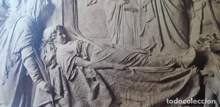 Fotografía antigua: 1872-75ca. Fotografía oroginal albumina J. Laurent y Cia. 33x 24cm. Bajo relieve. Luz artificial - Foto 5 - 226498300