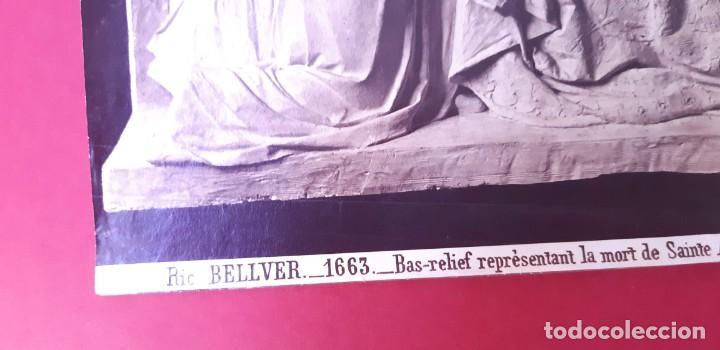 Fotografía antigua: 1872-75ca. Fotografía oroginal albumina J. Laurent y Cia. 33x 24cm. Bajo relieve. Luz artificial - Foto 8 - 226498300