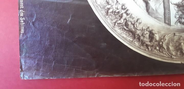 Fotografía antigua: 1868-70ca. Fotografía oroginal albumina J. Laurent. 33x 24cm. Plato labrado de Cellini. Toledo - Foto 2 - 226499311
