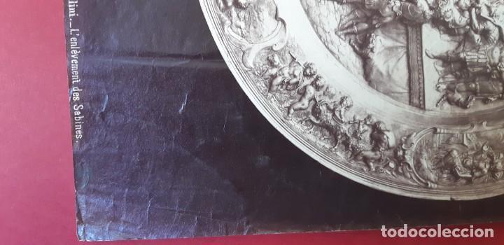 Fotografía antigua: 1868-70ca. Fotografía oroginal albumina J. Laurent. 33x 24cm. Plato labrado de Cellini. Toledo - Foto 11 - 226499311
