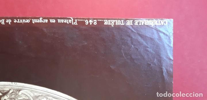 Fotografía antigua: 1868-70ca. Fotografía oroginal albumina J. Laurent. 33x 24cm. Plato labrado de Cellini. Toledo - Foto 13 - 226499311