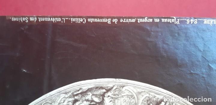 Fotografía antigua: 1868-70ca. Fotografía oroginal albumina J. Laurent. 33x 24cm. Plato labrado de Cellini. Toledo - Foto 14 - 226499311