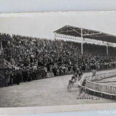 Fotografía antigua: 1936 FOTOGRAFIA ORIGINAL PACHECO VIGO ESTADIO DE BALAIDOS - ENTRADA VUELTA CICLISTA A ESPAÑA. Lote 227199620