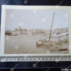 Fotografía antigua: ANTIGUA ALBÚMINA SOBRE 1880 MÁLAGA. Lote 227856895
