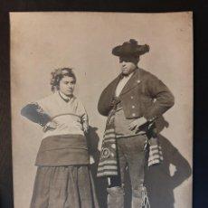 Fotografía antigua: ANTIGUA FOTOGRAFÍA JEAN LAURENT GUADALAJARA TRAJE REGIONAL NUMERO 1927. Lote 230945685