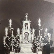 Fotografía antigua: RELIGIOSA. ANTIGUA FOTOGRAFÍA VIRGEN DE AGUAS SANTAS - VILLAVERDE DEL RÍO, SEVILLA. Lote 231394300