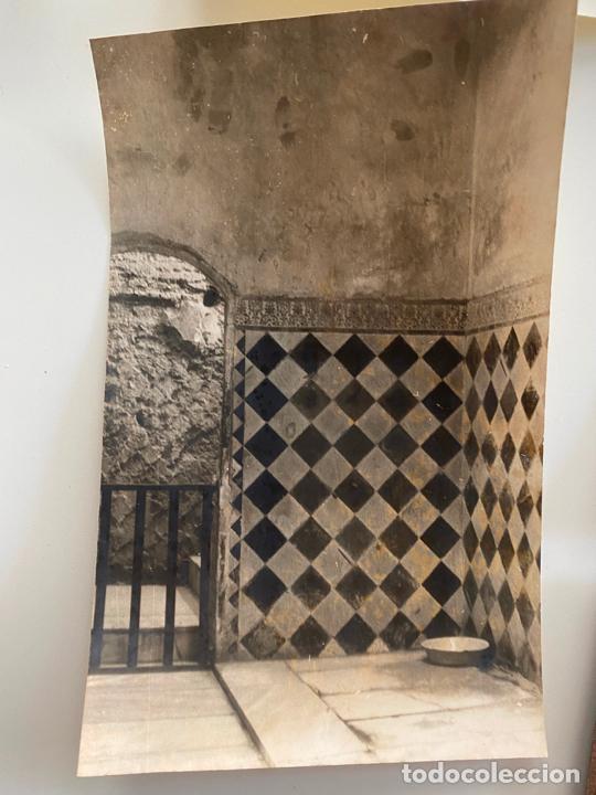 Fotografía antigua: Lote de 25 fotografías originales realizadas en el interior de la Alhambra , Granada . - Foto 3 - 234899530