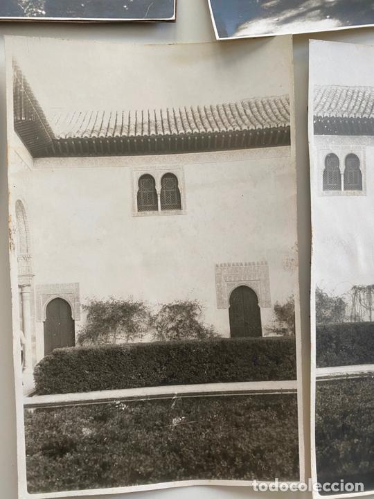 Fotografía antigua: Lote de 25 fotografías originales realizadas en el interior de la Alhambra , Granada . - Foto 4 - 234899530