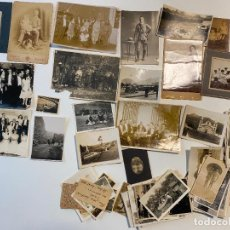 Fotografía antigua: LOTE DE FOTOGRAFÍAS ANTIGUAS DE BOGOTÁ Y RELACIONADAS , CON DE PERSONAJES Y PAISAJES. Lote 235119330