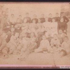 Fotografía antigua: FOTO ANÓNIMA. FECHADA AL DORSO *BARCELONA 1893* MEDS. CARTÓN: 128X177 MMS.. Lote 236756795