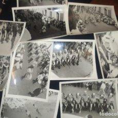 Fotografía antigua: LOTE 11 FOTOGRAFÍAS ANTIGUAS ENTRADA? MOROS Y CRISTIANOS 23 AGOSTO 1969 CAMPO DE MIRRA?. Lote 239701780
