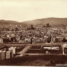 Fotografia antica: BARCELONA VISTA PANORÁMICA DE LA CIUDAD.. Lote 241973665