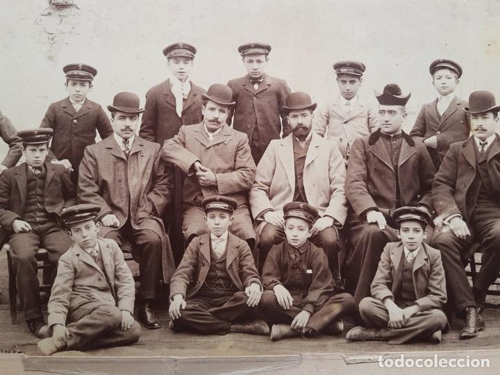 Fotografía antigua: Centro politécnico de San Isidoro. Palencia 1904-1905. J. David - Foto 2 - 243968425