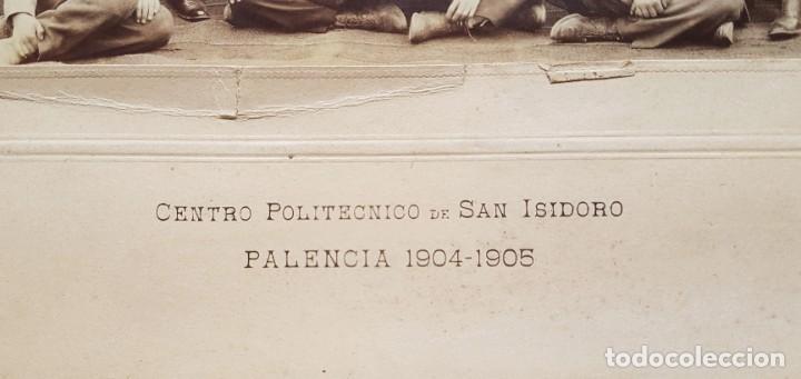 Fotografía antigua: Centro politécnico de San Isidoro. Palencia 1904-1905. J. David - Foto 4 - 243968425