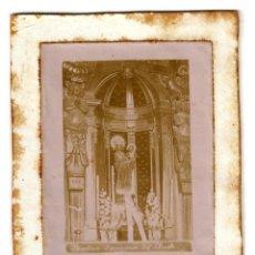 Fotografía antigua: NOSTRA SENYORA DE LLUCH - MALLORCA - IMPORTANTE FOTO HISTÓRICA - ÚNICA - 153X115 - 124X81 (FOTO). Lote 245296680