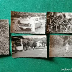 Fotografía antigua: LOTE FOTOS GUINEA ESPAÑOLA. VISITA A LAS PLANTACIONES. Lote 245955180