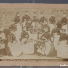 Fotografía antigua: ANTIGUA FOTOGRAFÍA MIDAS DE DÑA DOLORES GUSÒ DE BONSHOMS-SANT MARTÍN DE PROVENDALS-P.S.XX. Lote 246155035