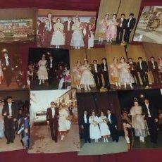 Fotografía antigua: LOTE ANTIGUAS 20 FOTOGRAFÍAS FALLAS FALLA ISAAC PERAL MICER DE MASCO ?SIN MÁS DATOS. Lote 246193300