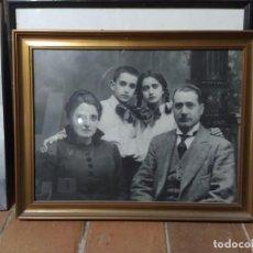 Fotografía antigua: FOTOGRAFÍA FAMILIAR ANTIGUA. Lote 252027740