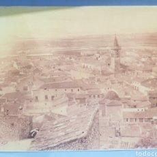 Fotografia antiga: FOTOGRAFIA , VISTA DE LA.CIUDAD DE VILLENA , AÑOS 1920. Lote 252706765