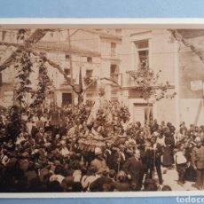 Fotografia antiga: FOTOGRAFIA CORONACION DE NTRA SRA DE LAS VIRTUDES, CALLE.CORREDERA ,VILLENA,AÑO 1923. Lote 253668735