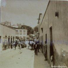 Fotografía antigua: FOTOGRAFÍA ANTIGUA. LAS PALMAS DE G.C. CALLE OBISPO CODINA. SIGLO XIX (8 X 8 CM). Lote 257606450