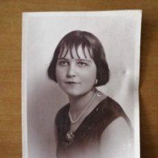 Fotografía antigua: RETRATRO DE MUJER ANTIGUO. FOTOGRÁFO DE VALNCIA. 8,7X13,5CM. W. Lote 260865355