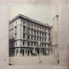 Fotografía antigua: WIEN - VIENA - SCHLAF'SCHE HAUS. APOTHEKE HEIL GEIST. 1880 APROX. 19,5X24 CM.. Lote 261251565