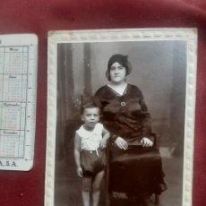 Fotografía antigua: FOTO HARO, CARTAGENA. SOPORTE DE CARTÓN. Lote 263088395