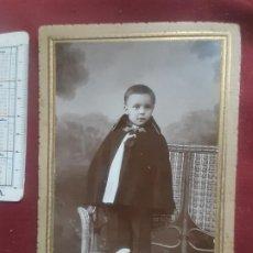 Fotografía antigua: MATRAN FOTÓGRAFO 1929, CARTAGENA. SOPORTE DE CARTÓN. Lote 263088465
