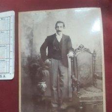 Fotografía antigua: PERÚ. AYACUCHO FOTÓGRAFO. 1903. Lote 263089000