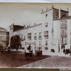 Fotografía antigua: ANTIGUA ALBÚMINA DE BURGOS. PALACIO DE LA CAPITANIA GENERAL. - L. L. AÑO 1880 - 1890. Lote 264777784