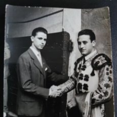 Fotografía antigua: FOTO AUTOGRAFIADA DE RAFAELILLO AUTOGRAFIADA 1961. Lote 264796274