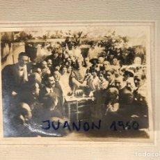 Fotografía antigua: FOTOGRAFÍA, LAS FALLAS Y JOSÉ M. SALVADOR Y BARRERA, ARZOBISPO DE VALENCIA (H.1910?). Lote 266010468