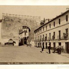 Fotografia antiga: GRANADA. PUERTA DE ELVIRA, ANTIGUA ENTRADA A LA FORTIFICACIÓN. FOTO GARZÓN, 197. Lote 269239458