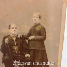 Fotografía antigua: ANTIGUA FOTO MATRIMONIO ESTUDIO J. SAGRISTÁ 11 X 8 CTMS. Lote 269456198
