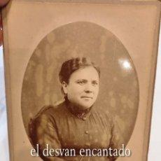 Fotografía antigua: DAMA DE ÉPOCA. ESTUDIO TORRES. TARRAGONA. ANTIGUA FOTO 16 X 10 CTMS.. Lote 269458148