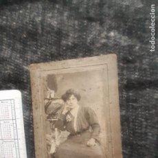 Fotografia antica: ZALDÚA FOTÓGRAFO, BILBAO. SOPORTE DE CARTÓN. Lote 269720933