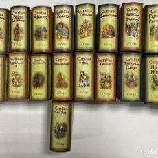 Fotografía antigua: CUENTOS CUENTOS DE CALLEJA. EDICION COLECCIONABLE. FACSIMIL. 21 ESTUCHES CON 12 CUENTOS CADA UNO. Lote 269808033