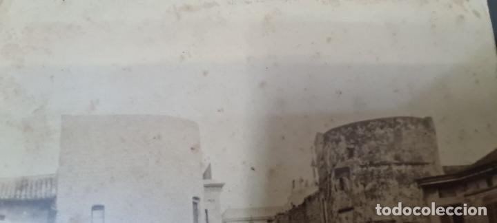 Fotografía antigua: RAVAL DE BARCELONA. FOTOGRAFIA DE ALBUMINA. FINELES SIGLO XIX. - Foto 3 - 269813533