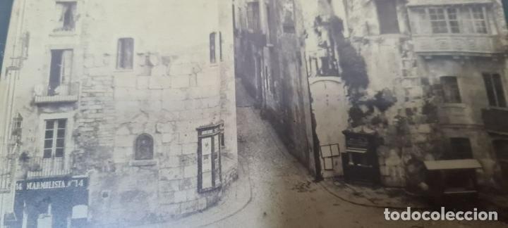 Fotografía antigua: RAVAL DE BARCELONA. FOTOGRAFIA DE ALBUMINA. FINELES SIGLO XIX. - Foto 4 - 269813533