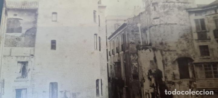 Fotografía antigua: RAVAL DE BARCELONA. FOTOGRAFIA DE ALBUMINA. FINELES SIGLO XIX. - Foto 6 - 269813533