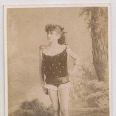 Fotografia antica: FOTOGRAFÍA. UNA NIÑA ARTISTA O DEPORTISTA. FOTÓGRAFO: A. ZÉNDEGUI. HABANA, CUBA. Lote 270181853
