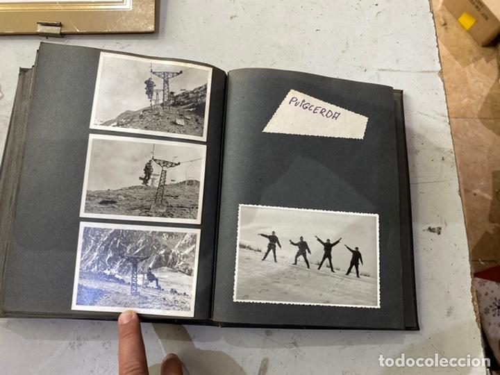 CURIOSO ÁLBUM FOTOGRAFÍAS BLANCO NEGRO LOCALIZADAS DE UN PROFESIONAL PUEBLOS BARCELONA AÑOS 60 (Fotografía Antigua - Albúmina)