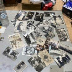 Fotografía antigua: LOTE FOTOS BLANCOS Y NEGROS ANTIGUOS. VER FOTOS. Lote 272547088