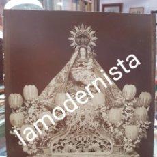 Fotografía antigua: ANTIGUA FOTOGRAFIA ALBUMINA RELIGIOSA VIRGEN DE LAS HUERTAS LORCA MURCIA S XIX. Lote 273642893