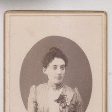 Fotografia antica: FOTOGRAFÍA. MARÍA VILLOCH Y GARCÍA DE LA CONCHA. 1890. CORUÑA. CUDILLERO. M. TEYEIRO, FOTÓGRAFO. Lote 275788483